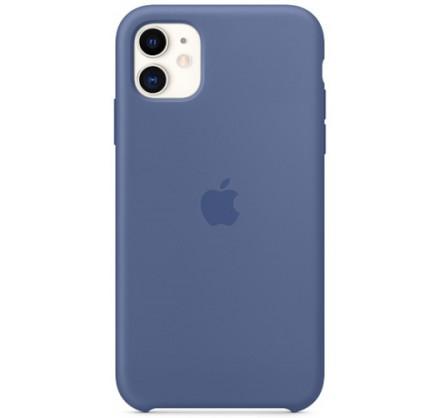 Чехол Silicone Case качество Lux для iPhone 11 синий ле...