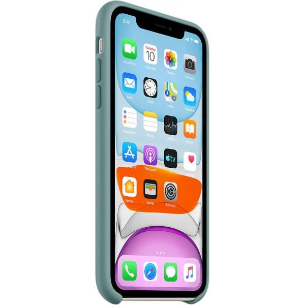 Чехол Silicone Case качество Lux для iPhone 11 дикий кактус
