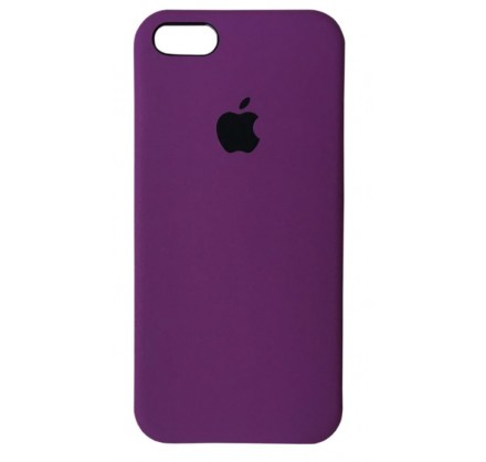Чехол Silicone Case качество Lux iPhone 5s/SE фиолетовы...