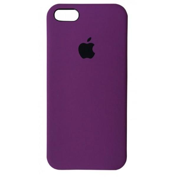 Чехол Silicone Case для iPhone 5/5s/SE фиолетовый