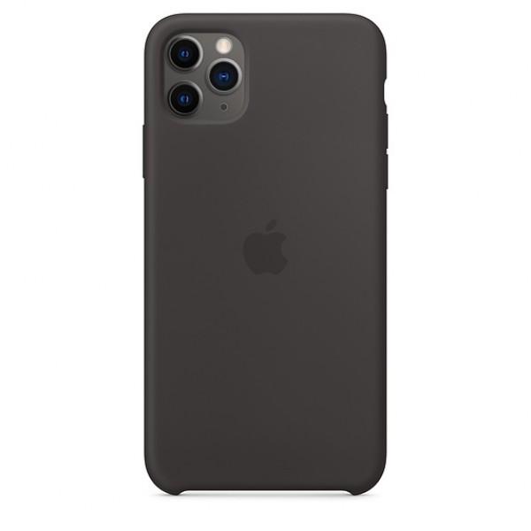 Чехол Silicone Case iPhone 11 Pro черный