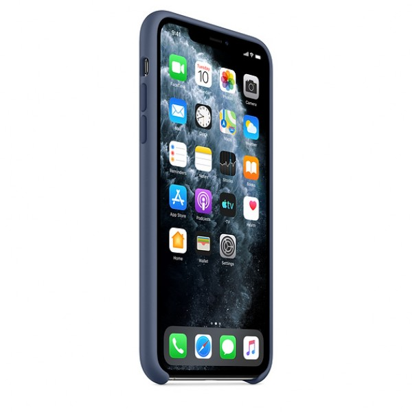 Чехол Silicone Case iPhone 11 морской лёд