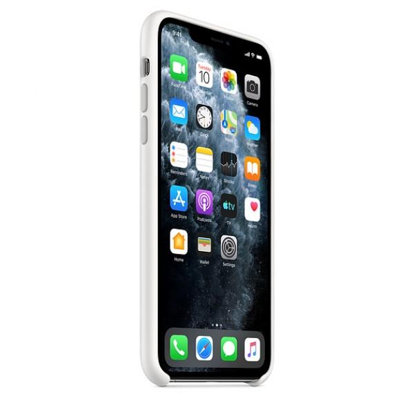 Чехол Silicone Case iPhone 11 Pro белый