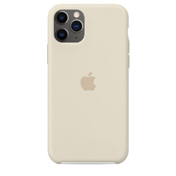 Чехол Silicone Case iPhone 11 Pro Max бежевый
