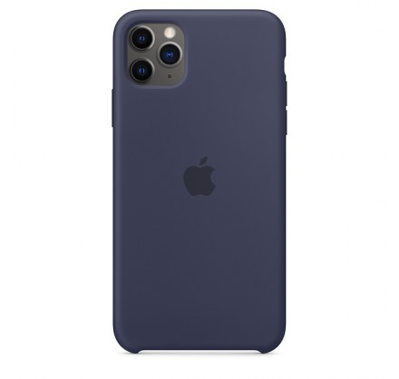 Чехол Silicone Case iPhone 11 Pro темно-синий