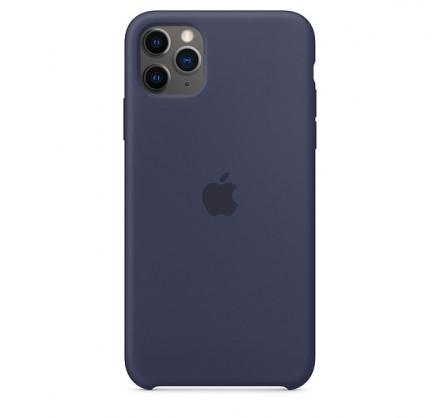 Чехол Silicone Case iPhone 11 Pro Max темно-синий