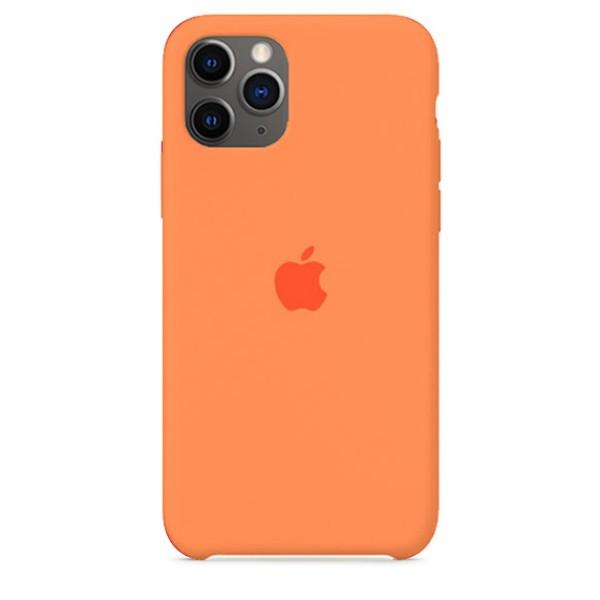 Чехол Silicone Case iPhone 11 Pro Max оранжевый