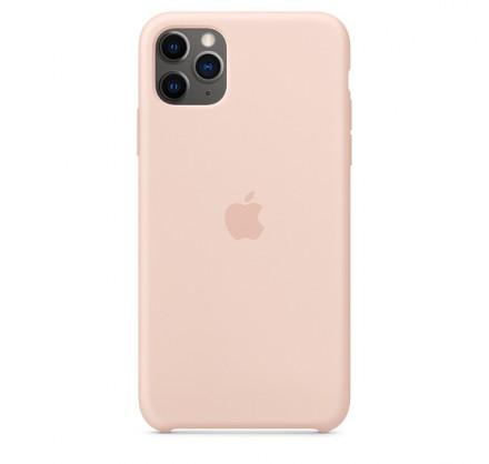 Чехол Silicone Case iPhone 11 Pro Max светло-розовый
