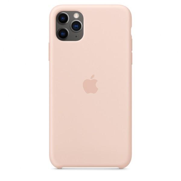 Чехол Silicone Case iPhone 11 Pro светло-розовый