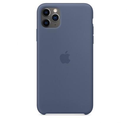 Чехол Silicone Case iPhone 11 Pro Max морской лёд