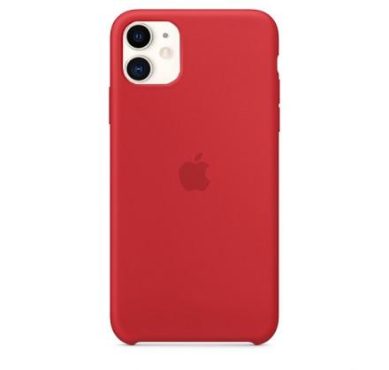 Чехол Silicone Case iPhone 11 красный