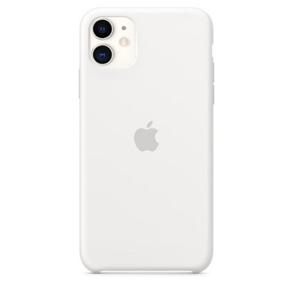 Чехол Silicone Case iPhone 11 белый