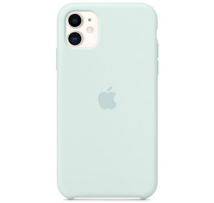 Чехол Silicone Case качество Lux для iPhone 11 морская ...