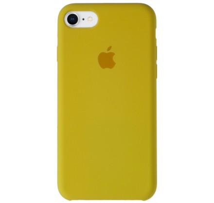Чехол Silicone Case для iPhone 7/8 желтый