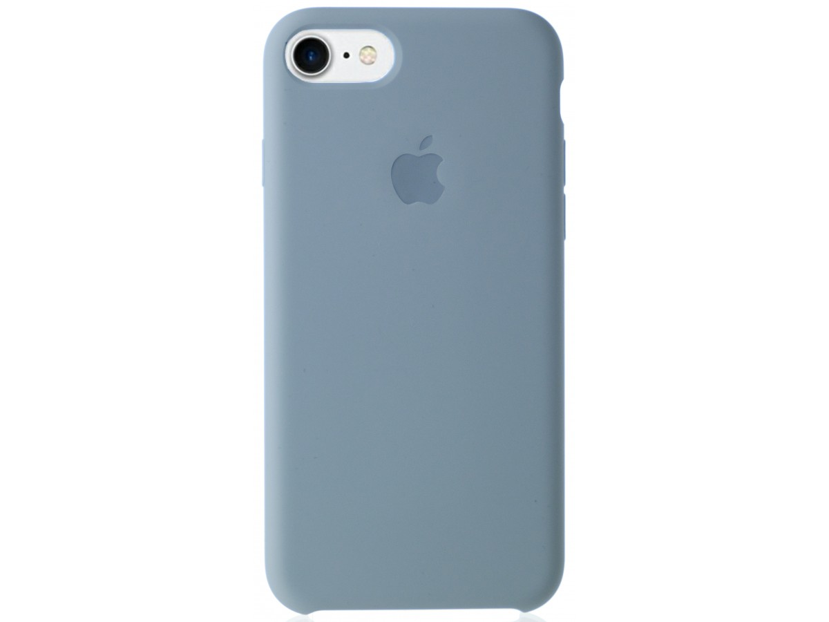 Чехол Silicone Case качество Lux для iPhone 7/8 светло-голубой в Тюмени