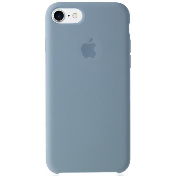 Чехол Silicone Case качество Lux для iPhone 7/8 светло-голубой