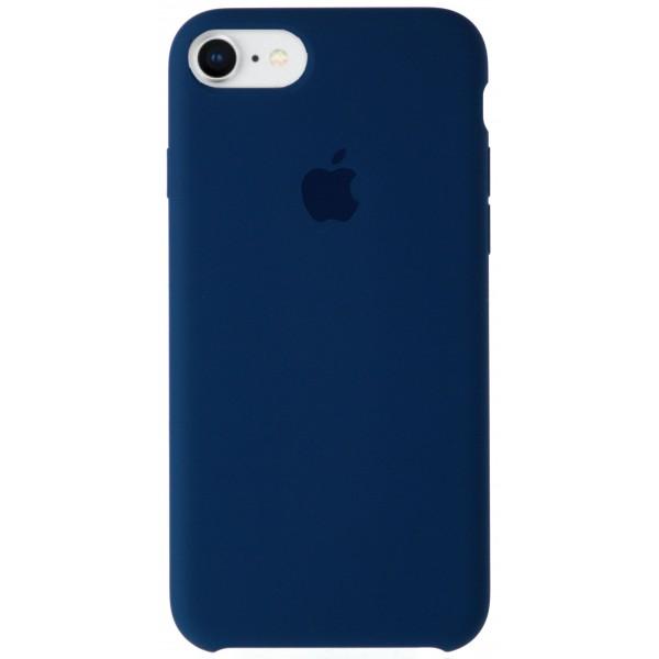 Чехол Silicone Case качество Lux для iPhone 7/8 тихий океан