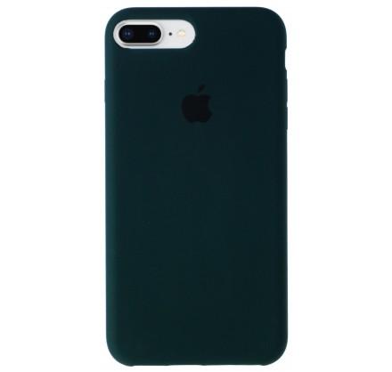 Чехол Silicone Case для iPhone 7 Plus/8 Plus темно-зеле...
