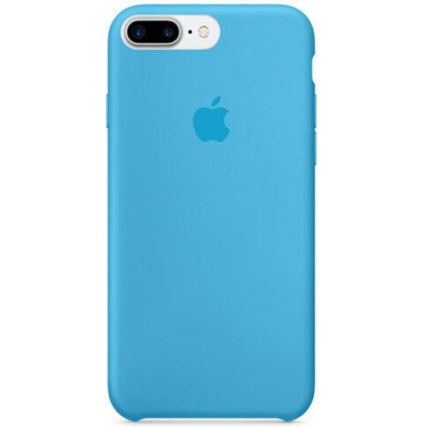Чехол Silicone Case для iPhone 7 Plus/8 Plus голубой