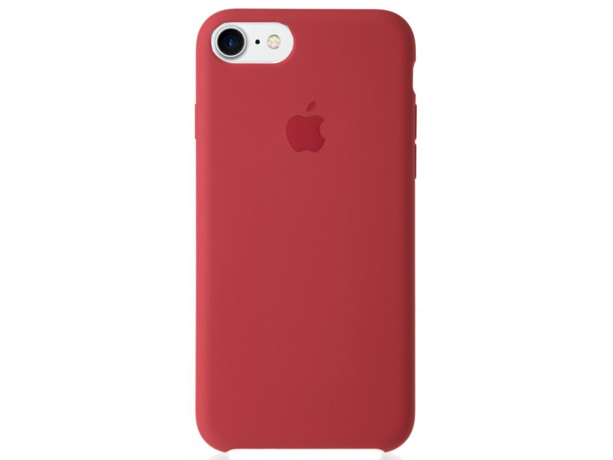 Чехол Silicone Case качество Lux для iPhone 7/8 камелия в Тюмени