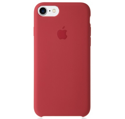 Чехол Silicone Case качество Lux для iPhone 7/8 камелия