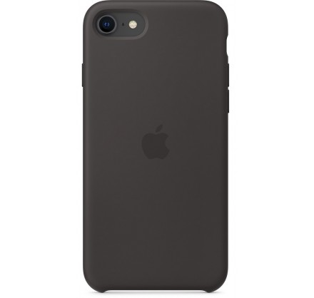 Чехол Silicone Case iPhone SE (2020) черный