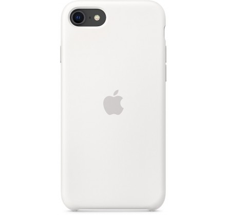 Чехол Silicone Case iPhone SE (2020) белый