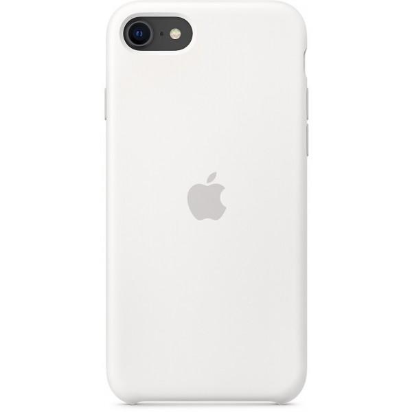 Чехол Silicone Case качество Lux для iPhone SE 2020 белый