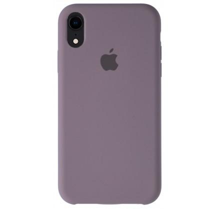 Чехол Silicone Case для iPhone XR лавандовый