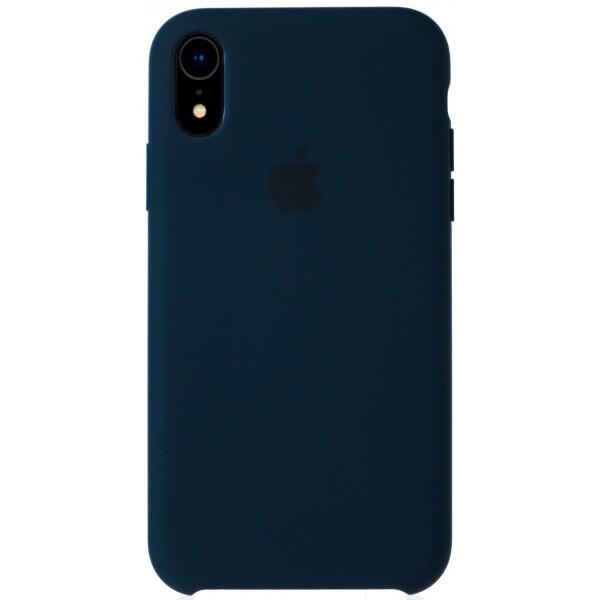 Чехол Silicone Case качество Lux для iPhone XR тихий океан
