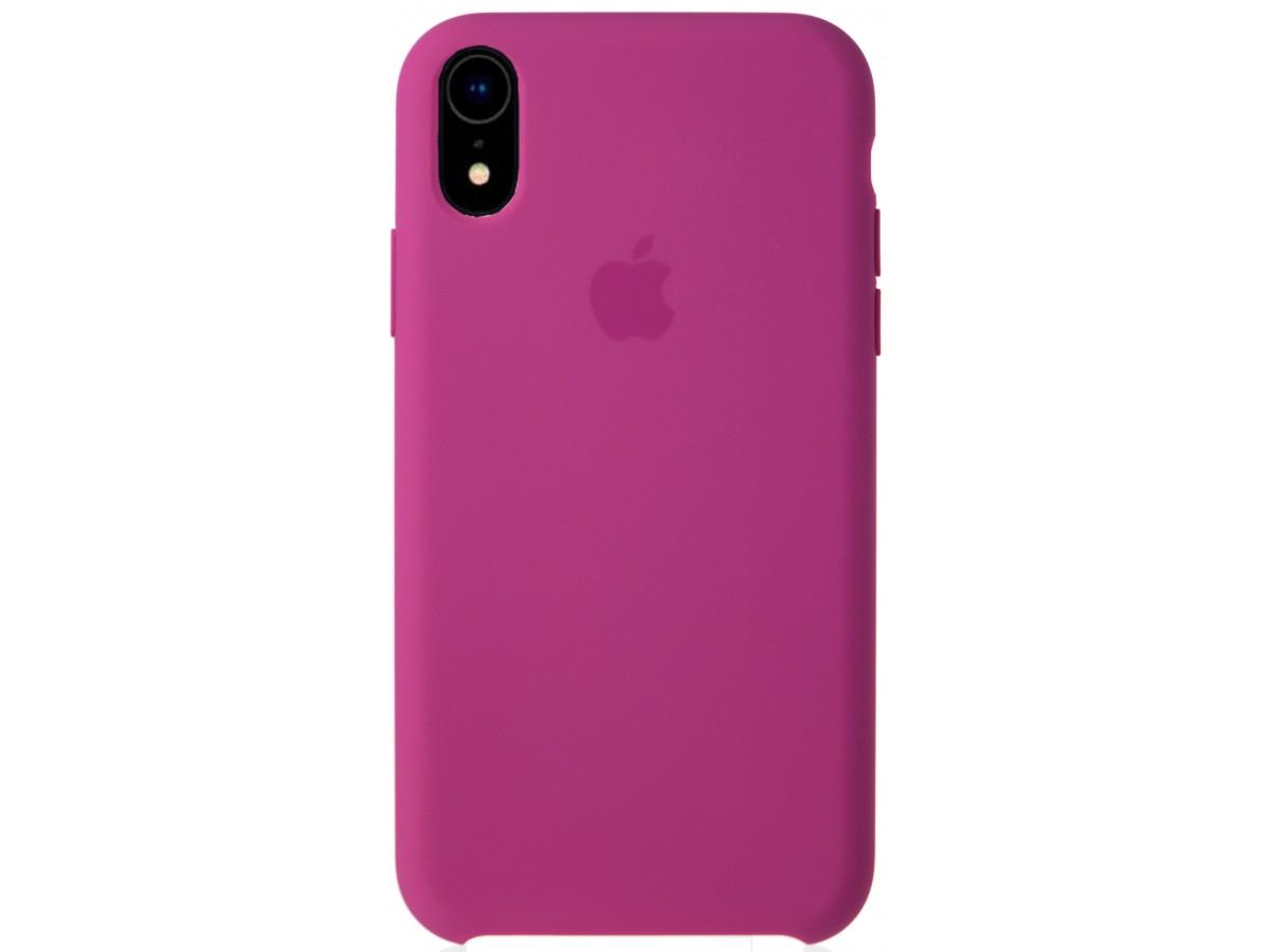 Чехол Silicone Case качество Lux для iPhone XR питайя в Тюмени