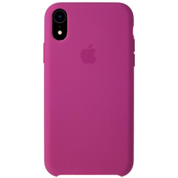 Чехол Silicone Case качество Lux для iPhone XR питайя