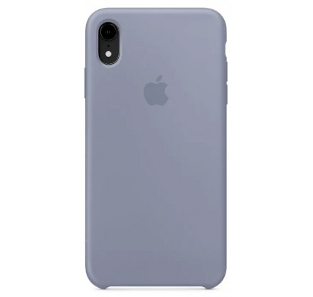 Чехол Silicone Case iPhone Xr темно лавандовый
