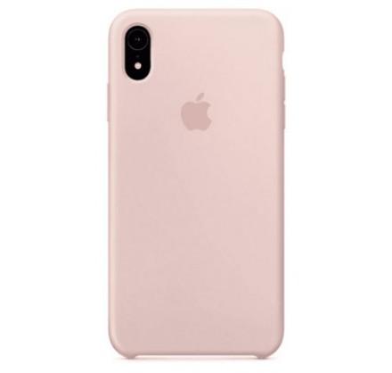 Чехол Silicone Case качество Lux для iPhone XR светло-р...