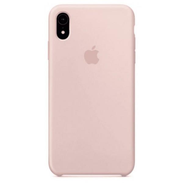 Чехол Silicone Case iPhone Xr светло-розовый