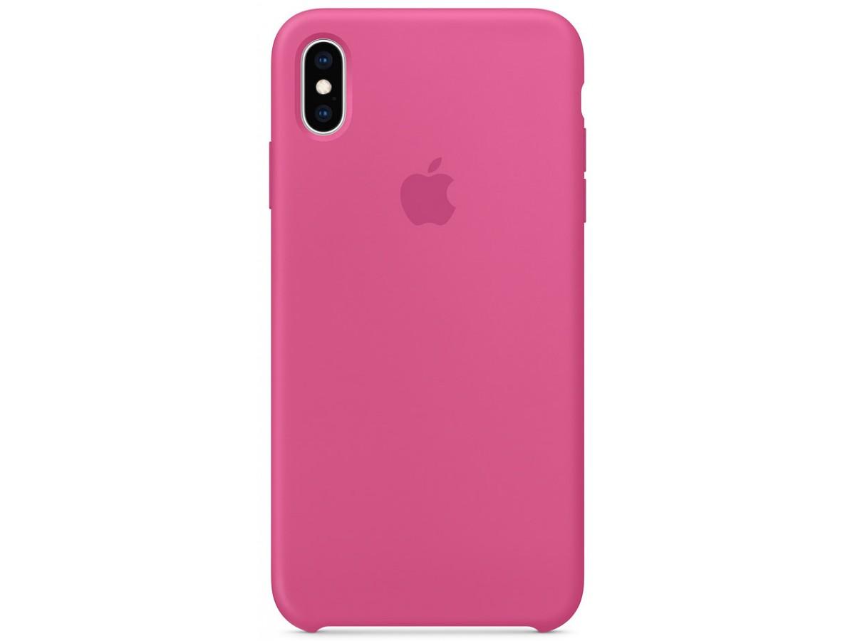 Чехол Silicone Case качество Lux для iPhone Xs Max питайя в Тюмени