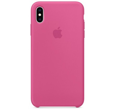 Чехол Silicone Case качество Lux для iPhone X/Xs питайя