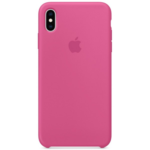 Чехол Silicone Case качество Lux для iPhone Xs Max питайя