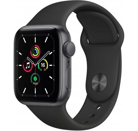 Apple Watch SE, 40 мм, корпус из алюминия цвета (серый ...