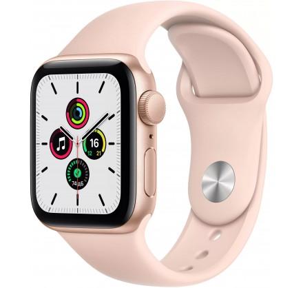 Apple Watch SE, 40 мм, корпус из алюминия золотого цвет...