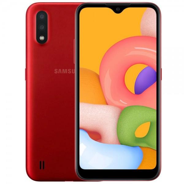 Samsung Galaxy A01 16 GB  (красный)