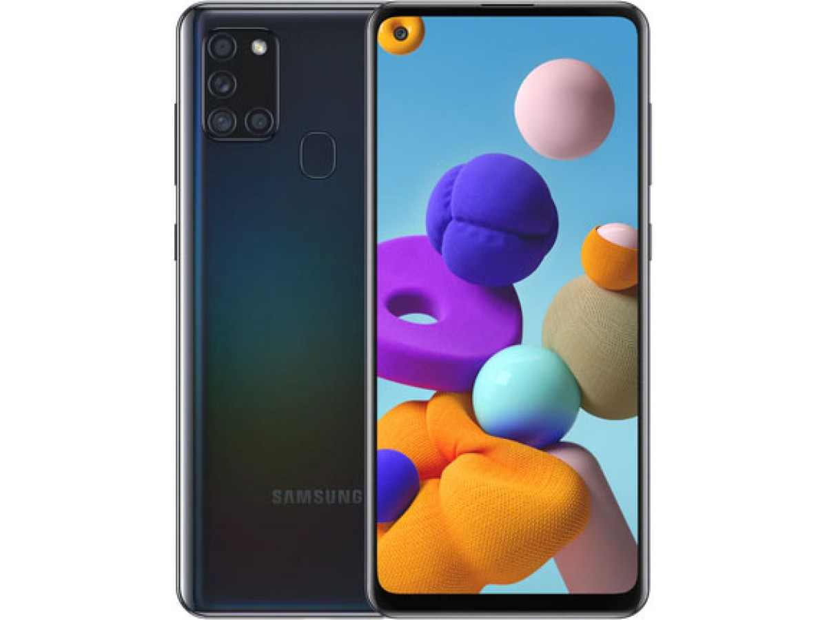 Samsung Galaxy A21s 32GB (черный) в Тюмени