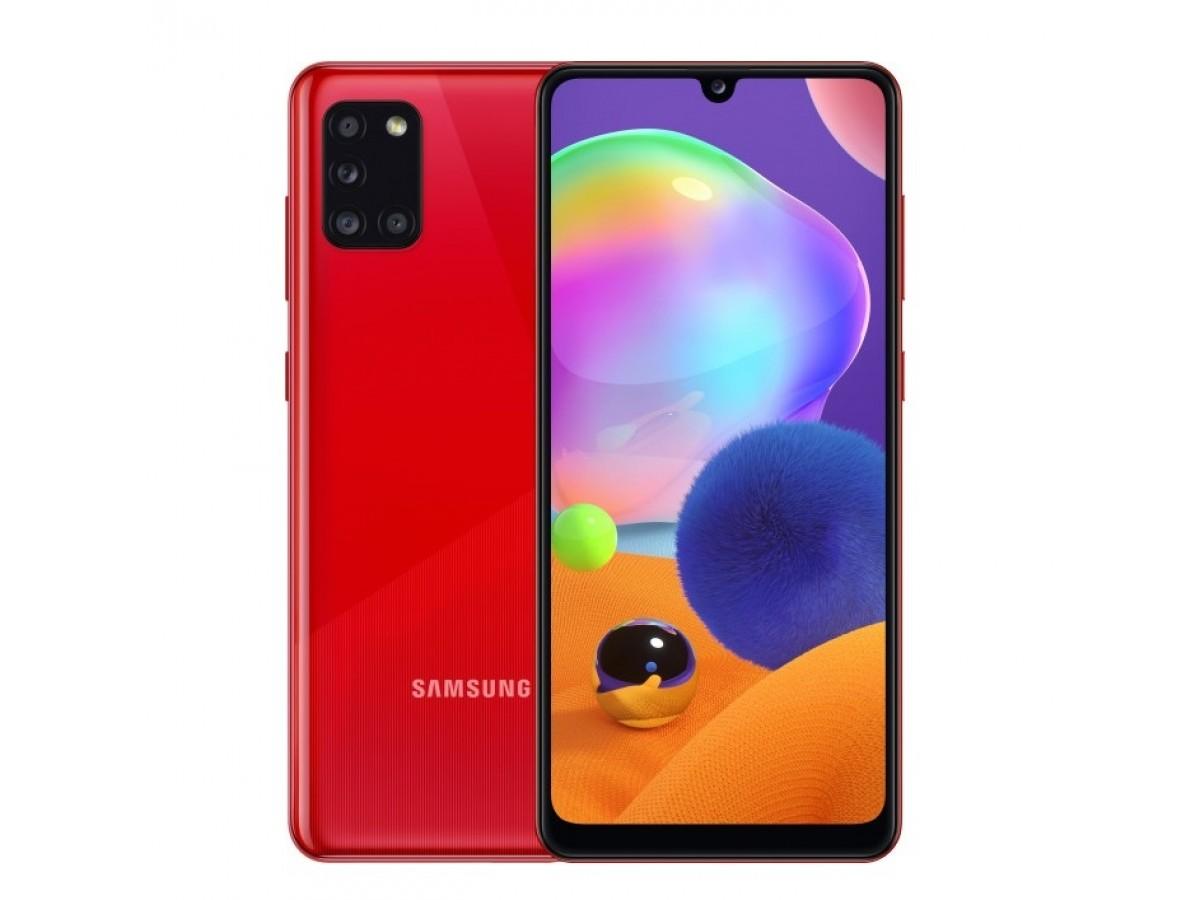 Samsung Galaxy A31 64GB красный в Тюмени