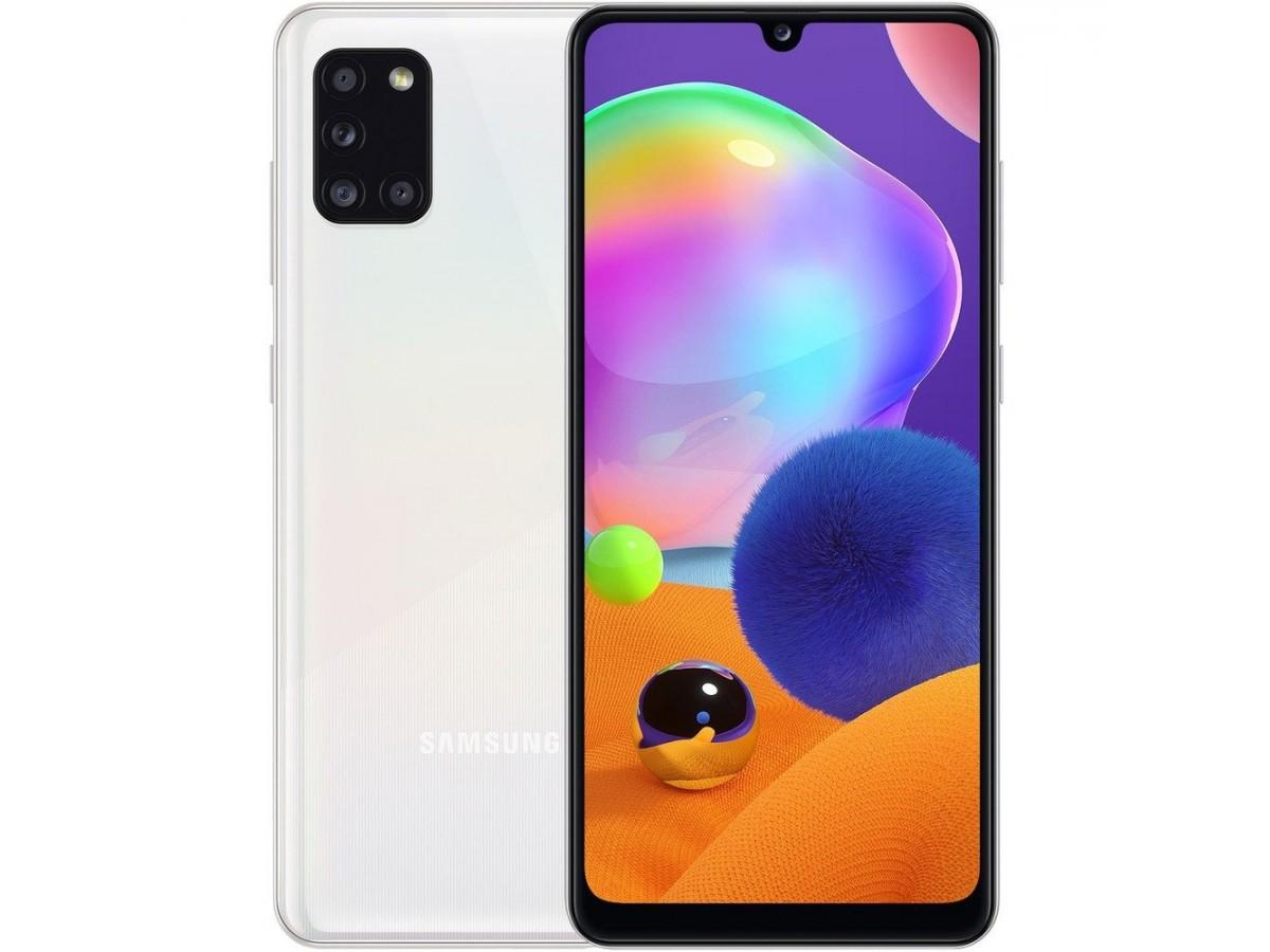 Samsung Galaxy A31 64GB белый в Тюмени