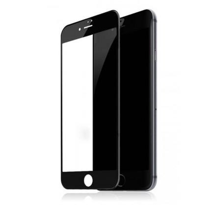 Стекло защитное iPhone 7/8/SE 2020 (3D) Baseus черное