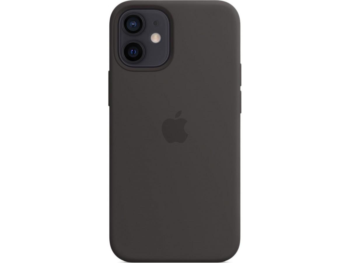 Чехол Silicone Case magsafe качество Lux для iPhone 12 mini черный в Тюмени