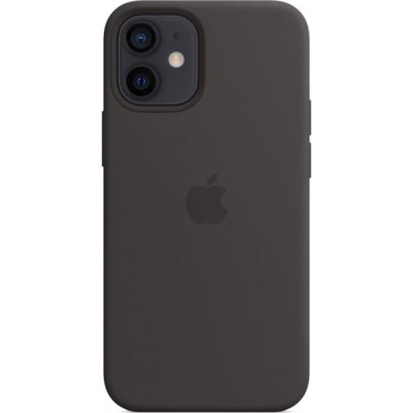 Чехол Silicone Case magsafe качество Lux для iPhone 12 mini черный