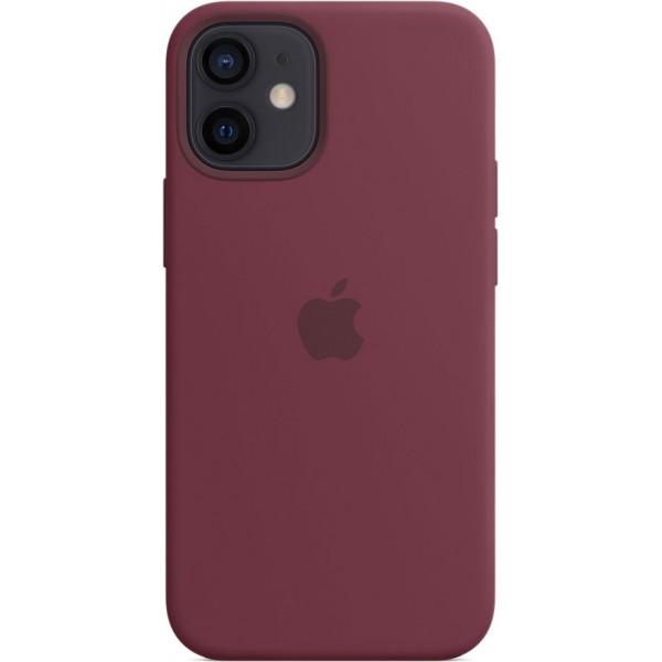 Чехол Silicone Case magsafe качество Lux для iPhone 12 mini сливовый