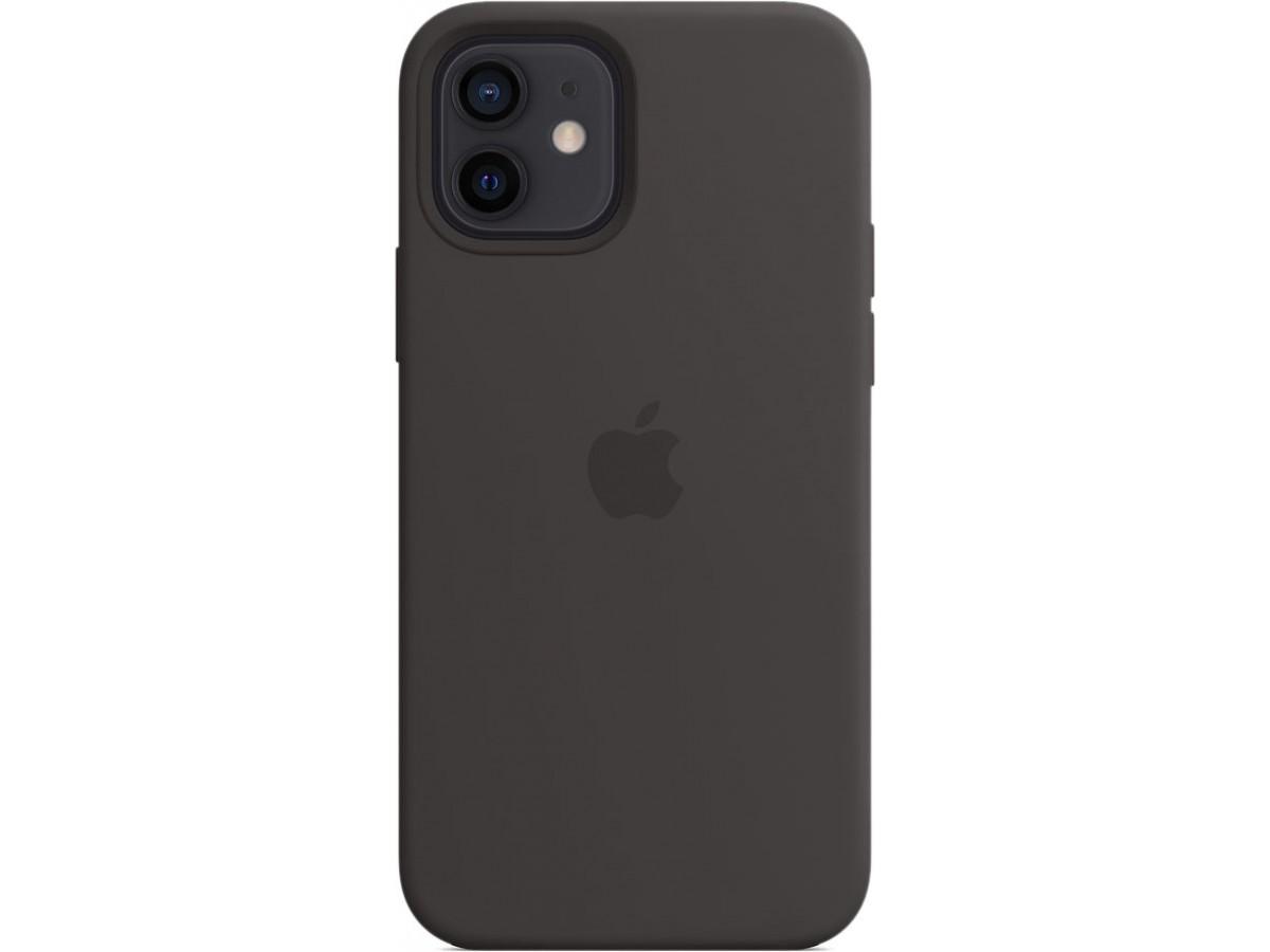 Чехол Silicone Case magsafe качество Lux для iPhone 12/12 Pro черный в Тюмени