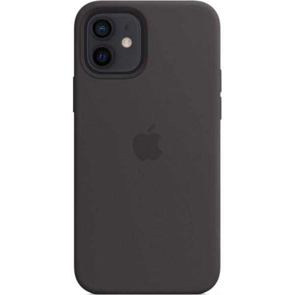 Чехол Silicone Case magsafe качество Lux для iPhone 12/12 Pro черный